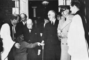Katrina with Roosevelt and Churchill